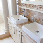 マンションの洗面所・バスルーム断捨離。狭くてもスッキリ見せるシンプル空間に。