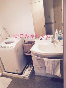 脱衣所・洗濯機まわり画像 断捨離