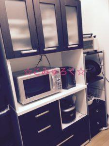 キッチン画像 断捨離・ミニマリスト 食器棚