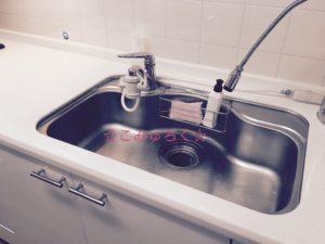 キッチン 水切りかご断捨離