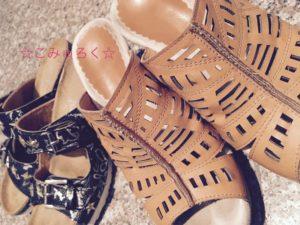 ミニマリスト サンダル靴画像