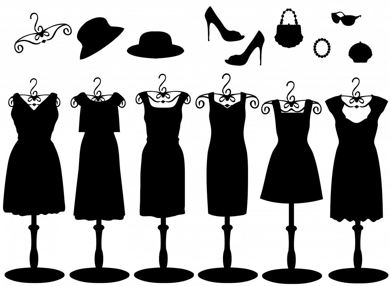 30代のファッション 黒い服