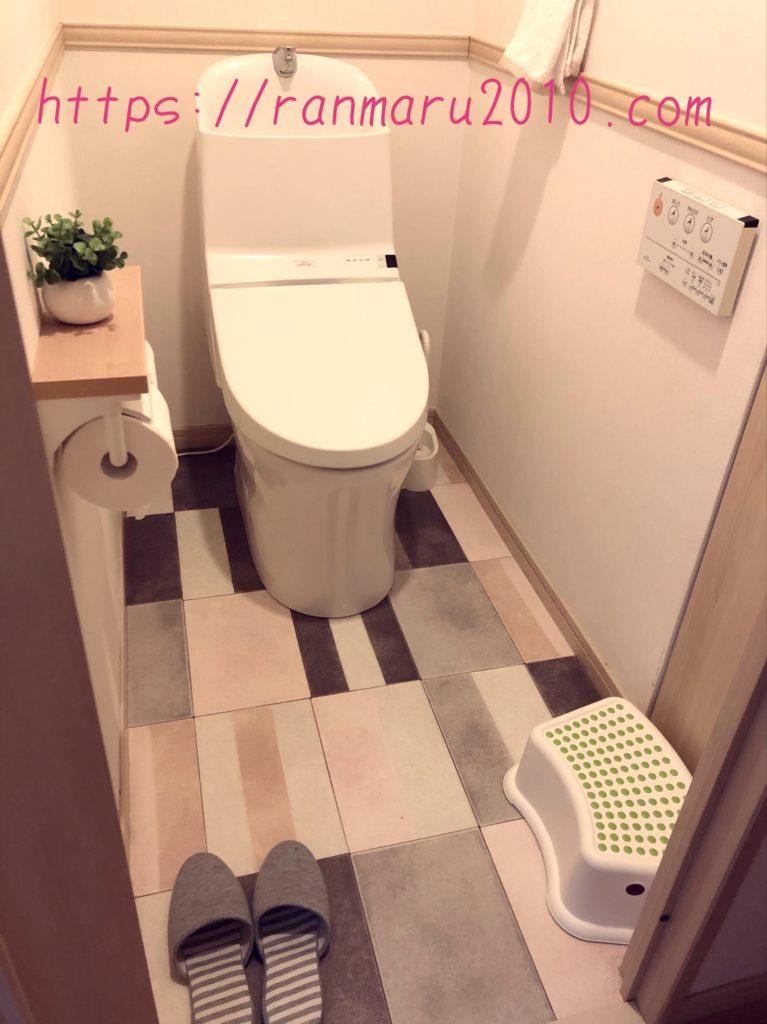 シンプルで可愛いトイレづくり